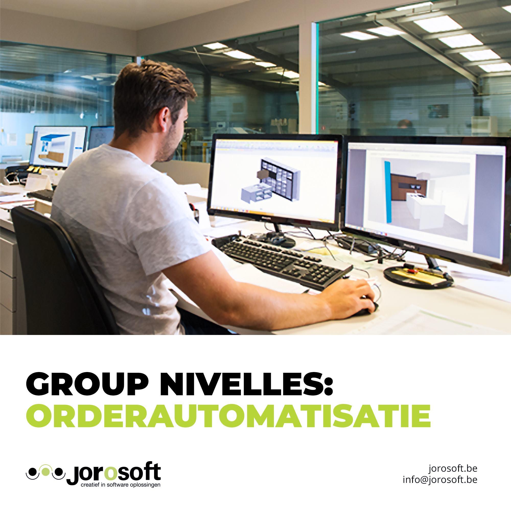 Group Nivelles gaat in één beweging van order naar badkamer